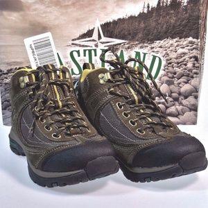 237b1e09d80 NEW Eastland 8.5 Hi Top Hiking Boot Brown Olive NWT